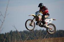 Trénink motokrosu